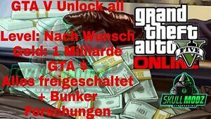 GTA5-Online-Unlock-all-bis-zu-1-Milliarde-GTA-Level-nach-Wunsch-PC