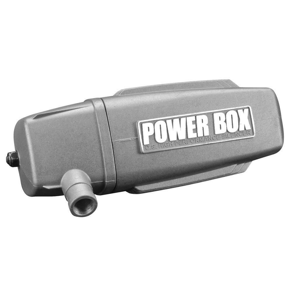 O.S. Muffler energia energia energia scatola 120AX 29122500 574e40