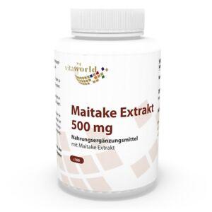 Vita-World-Maitake-Extrakt-500mg-100-Vegi-Kapseln-Apotheken-Herstellung