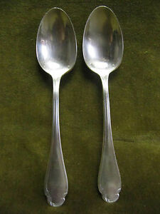2-cuilleres-a-cafe-metal-argente-Christofle-pompadour-coffee-spoons