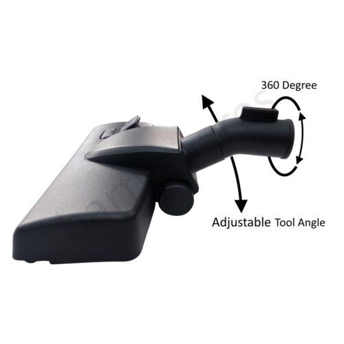 Aspirapolvere per Parkside Strumento 32mm 35mm TESTA Spazzola con ruote Hoover Pavimento Duro