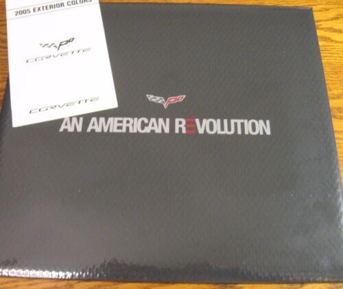 2005 Corvette Prestige Brochure /& Color /& Trim Brochure C6 Z51 MINT 05
