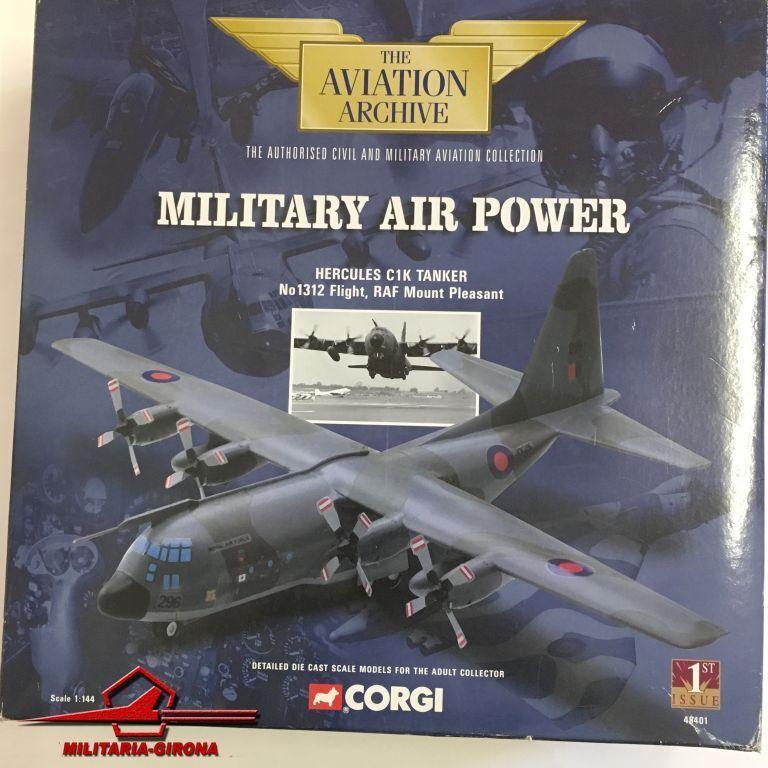 Corgi 1 144 Aviat. Arch. Military Air Power 48401, Hercules C1K Tanker No 1312