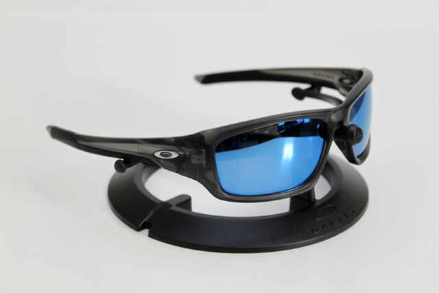 f42fcebc6d NEW OAKLEY VALVE MATTE SMOKE FRAME CUSTOM GLACIER MIRROR NON-POLARIZED  LENSES