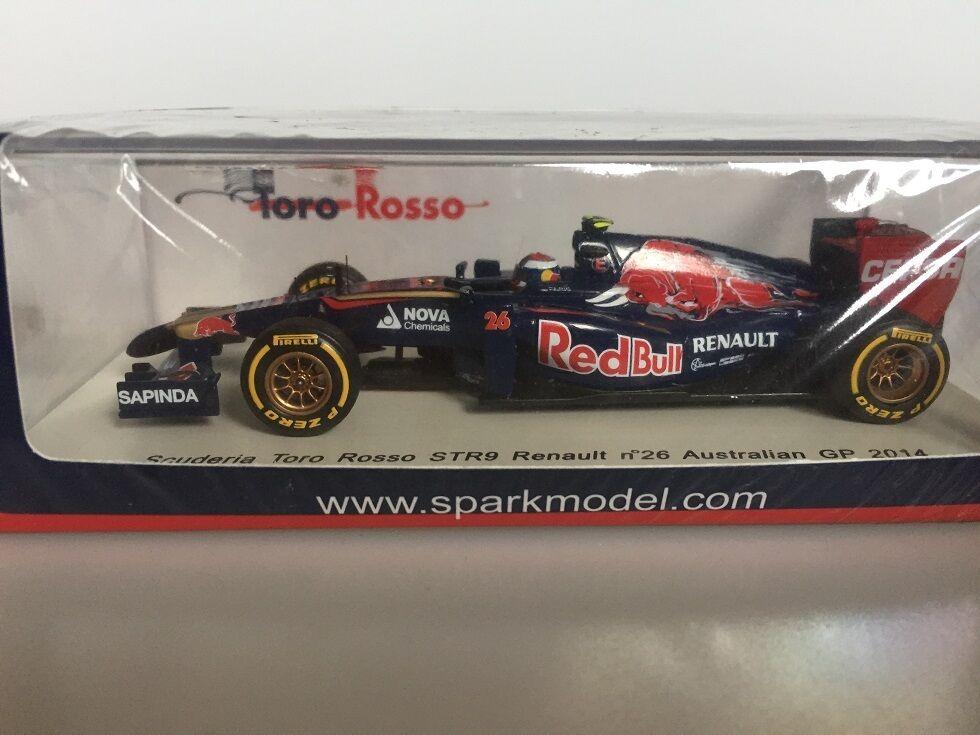 1 43 Spark Scuderia Tor rouge STR9 Renault n.26 Australian GP 2014 S3084
