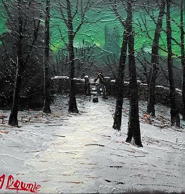 The Church Wood Style  : Original BEST Oil Painting Famous Artist James Downie