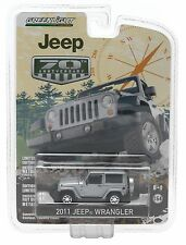1:64 GreenLight 2015 *ANNIVERSARY COLLECTION* SILVER 2011 Jeep Wrangler *NIP!*