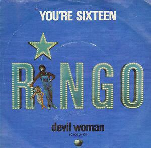 RINGO-STARR-You-039-re-Sixteen-1973-VINYL-SINGLE-7-034-DUTCH-PS
