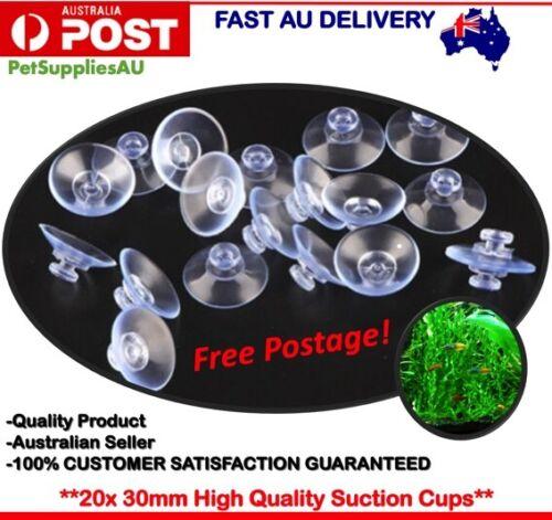 20x Suction Cup Sucker Mushroom Head Aquarium Suction Cup Plastic Suction Cup