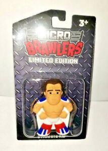 Dynamite Kid Micro Brawlers figure plastic protector pro wrestling tees British