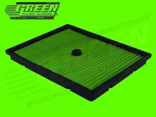 Seat Green Filtre à air sport pour Audi Skoda /& VOLKSWAGEN 1,0 l sti Filtre à air