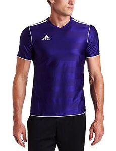 adidas Men's Tabela 11 Climalite Jersey Collegiate Purple, White ...