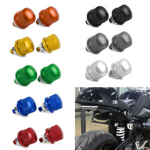 Motorcycle-Universal-M6-License-Plate-Bolt-Screw-Knurled-ATV-Dirt-Bike-Crusier