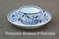 B20141087/2 - Pochon et sa coupelle en porcelaine Tournai - Immortelle de Saxe