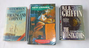 3-Books-For-King-and-Company-New-Crimes-Investigators-New-Badge-of-Honor