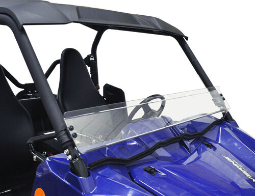 NEW YAMAHA WOLVERINE FRONT SHORT WINDSHIELD WINDOW LEXAN POLYCARBONATE