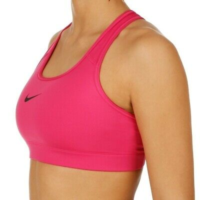 Continuar Heredero brillo  New Nike Victory Compression Bra Pink Med Support Crossfit Gym ...