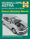 Vauxhall/Opel Astra (04-08) Service and Repair Manual by Haynes Publishing Group (Paperback, 2014)