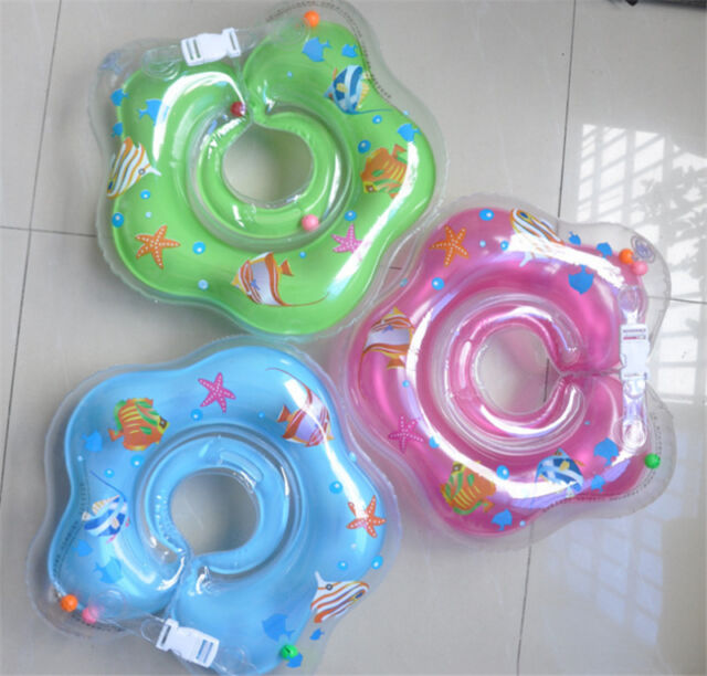 New Infant Kids Baby Swimming Neck Float Ring Safety HI