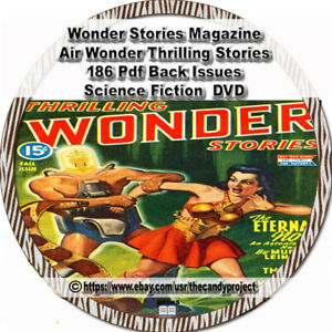 Wonder-Stories-Magazine-Thrilling-Science-Air-Pulp-Fiction-186-PDF-DVD