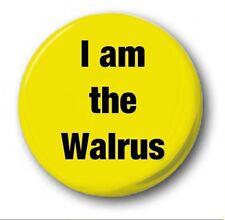 """I Soy El Walrus - 25mm 1"""" Botón Insignia - Beatles, Sargento Pimienta Lennon"""
