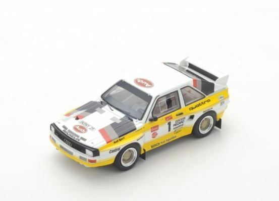 Audi Quattro S1 - Michèle Mouton - 1st Pikes Peak Hill Climb 1985  1 - Spark