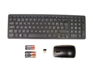DELL-KM714-Wireless-Keyboard-amp-WM514-Mouse-Combo-Set-SWISS-QWERTZ-Layout-NEW