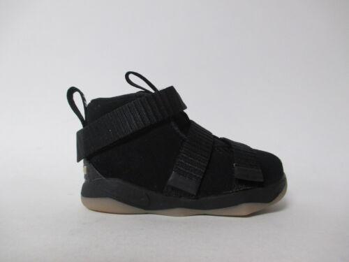 Nike Lebron Soldier XI 11 Black Gum TD Toddler Sz 6 918367-007
