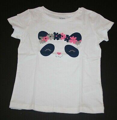 NEW Cat /& Jack Blushing Panda Bear Top Tee Shirt NWT Size 4 5 6 7 8 10 12 14 16