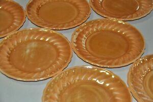 Anchor Hocking OVER PROF USA 7 Kuchenteller/ Frühstücksteller orange perlmutt - Neuss, Deutschland - Anchor Hocking OVER PROF USA 7 Kuchenteller/ Frühstücksteller orange perlmutt - Neuss, Deutschland