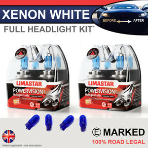 Details about C Class W204 07-14 Xenon White Upgrade Kit Headlight Dipped  High Side Bulbs