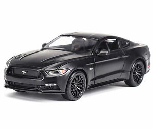Maisto 1 18 2015 Ford Mustang Gt Diecast Metal Model Car Black New
