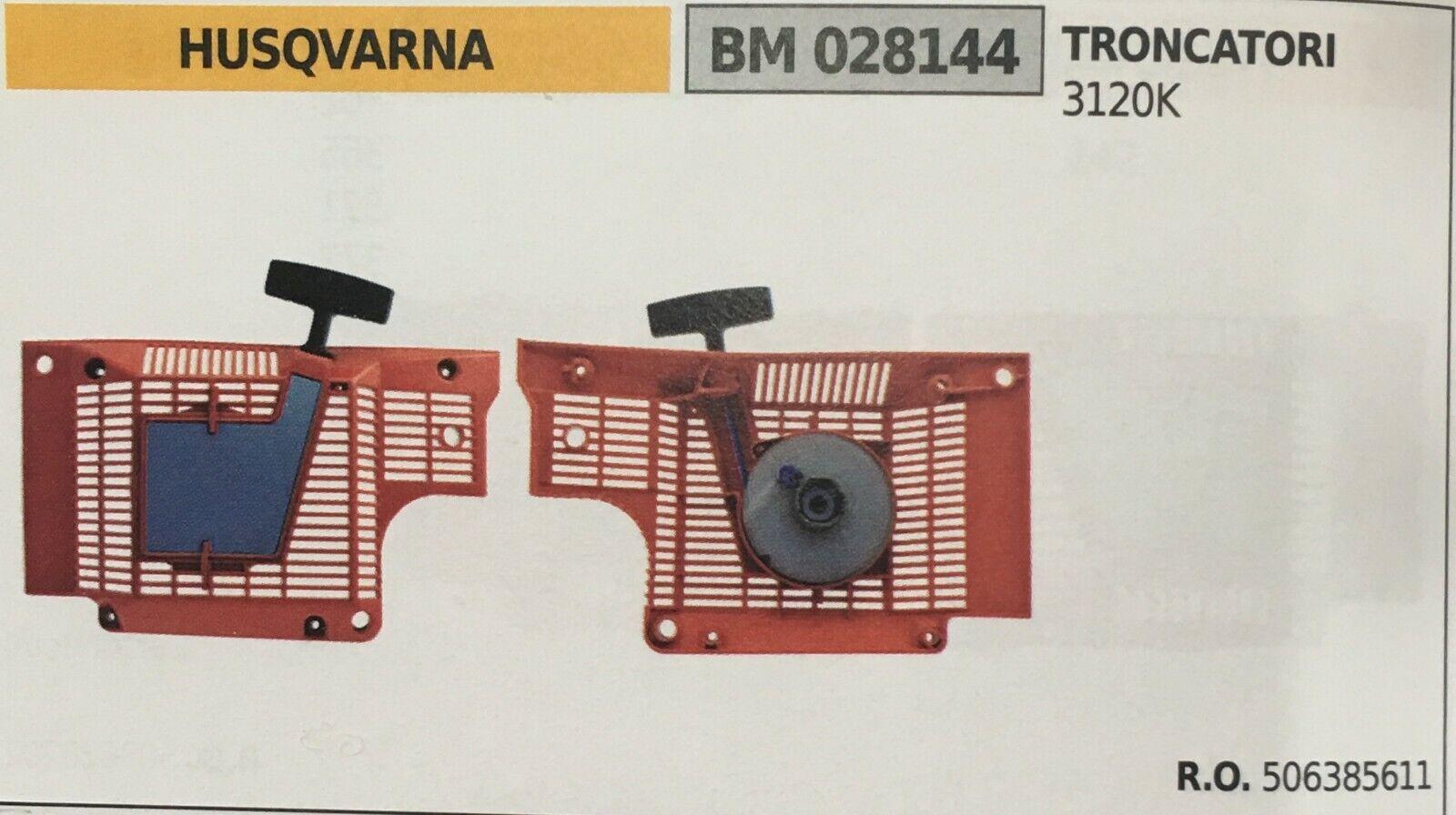 Start Komplett Brumar Husqvarna BM028144