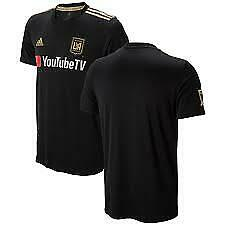 adidas Los Angeles FC Lafc 2018 Primary Home Replica MLS Jersey ...
