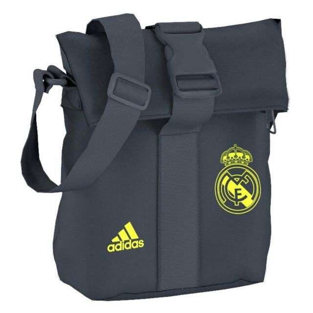 Madrid Unisex Real X Bag Personal Grey adidas Organiser Shoulder 20 7P5wzPn
