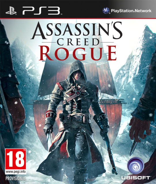 ASSASSINS CREED ROGUE PS3 GAME BRAND NEW SEALED OFFICIAL