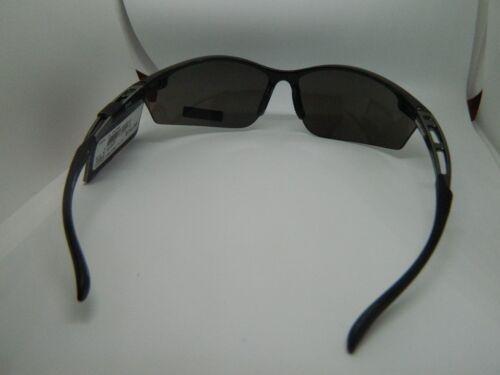 Sunglasses Foster Grant WRAPAROUND BLACK FRAME AND LENSES //SPORT ACTIVE FRAME