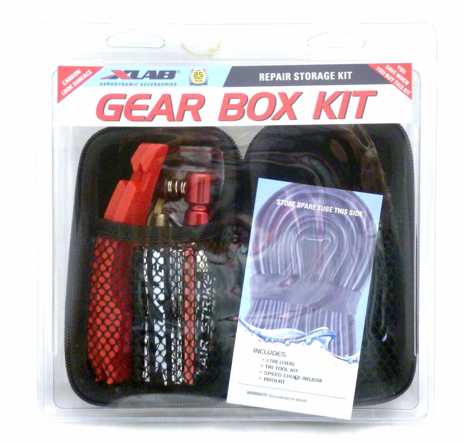 Xlab Gear Box Kit Repair Storage Kit for Bicycles X-Lab