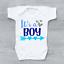Es un niño Embarazo Bebé Bebé Crecen Chaleco Body del anuncio