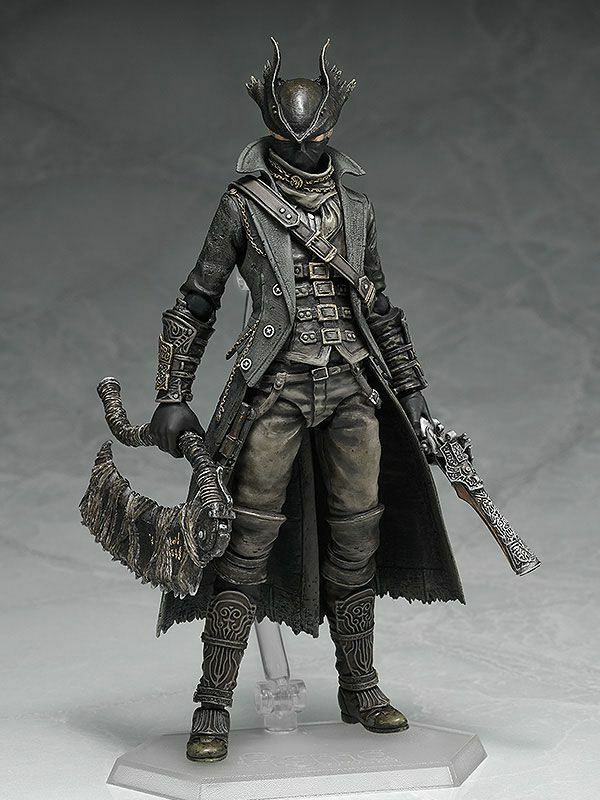 BLOODBORNE    the HUNTER FIGMA 1 12 Action-Figur 15cm MAX FACTORY 0adbb9