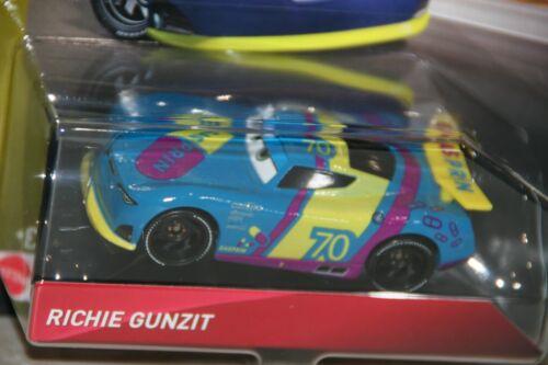 "Disney Pixar Cars 3 /""Richie gunzit.. navire de guerre mondiale ALIAS GASPRIN/"" new in package"