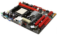 Biostar Amd Motherboard N68s+, Socket Am2/am2+, Cpu Support Up To 95w, 2 X Ddr2,