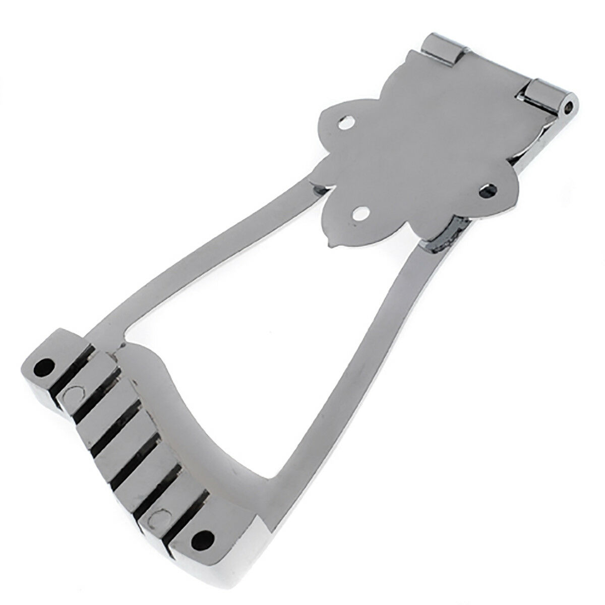trapeze tailpiece for vintage archtop for jazz guitar parts replacement chrome ebay. Black Bedroom Furniture Sets. Home Design Ideas