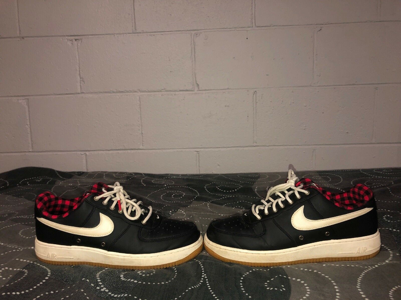 5ecda8e848 Nike Air Force 1 Low Lumberjack Pack Mens Athletic shoes Size 10.5 ...