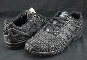 Adidas Zx Flux Black Woven