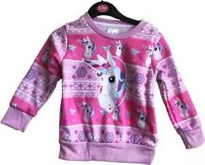 Licorne-Pull-Noel-Enfants-Pull-Noel-Filles-Festif-Nouveaute