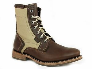 Caterpillar ABE CANVAS Mens Lace Up