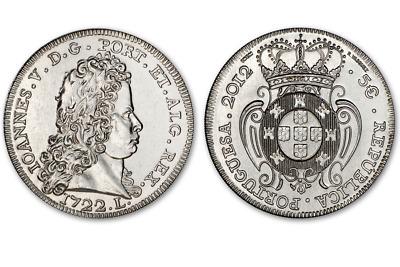 Portugal 5 euro 2012 D Joao II King John Peça 1722 UNC