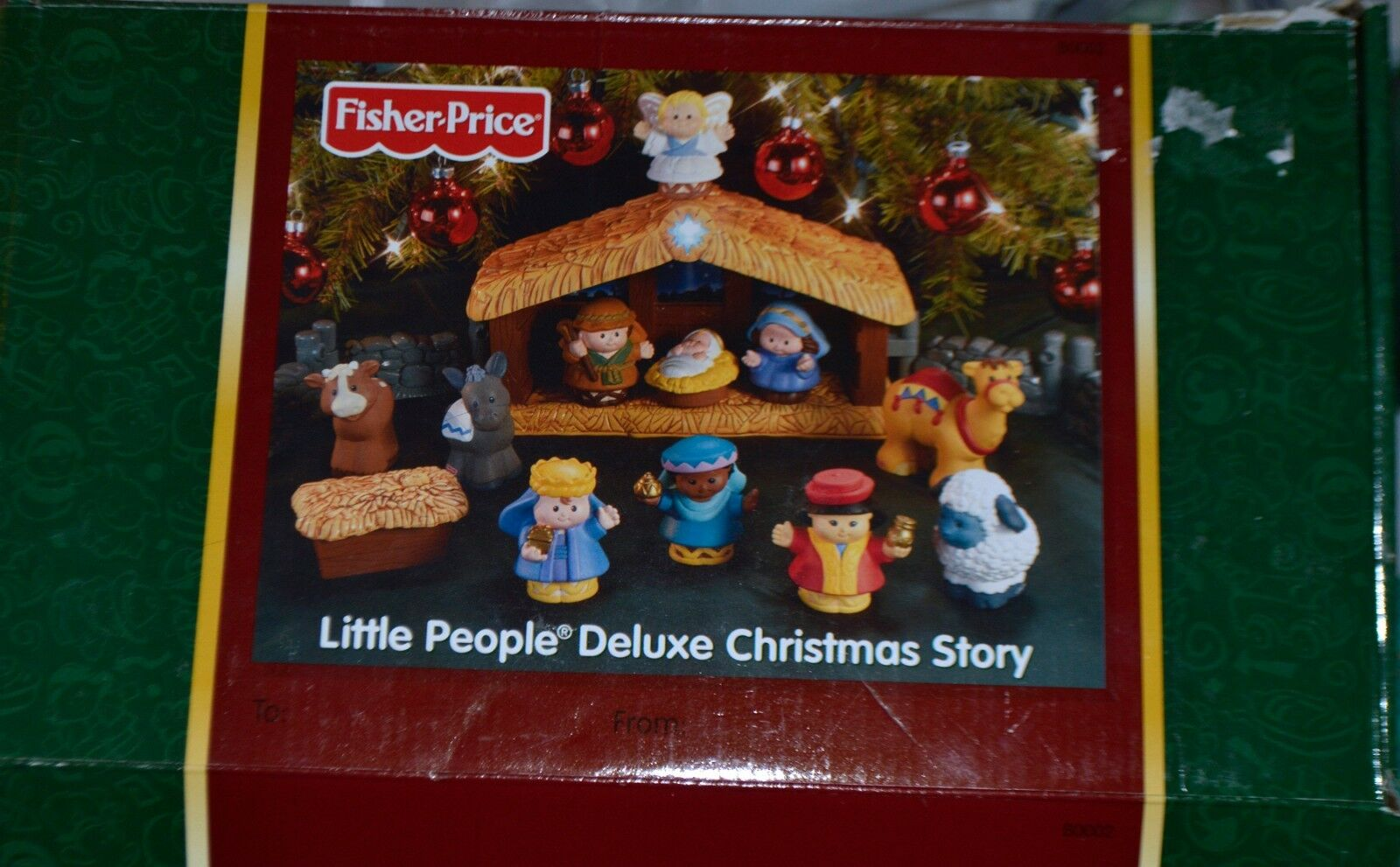 Fisher Price Little People Deluxe Deluxe Deluxe Christmas Story 13 pieces 5cd910