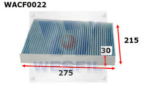 WESFIL-CABIN-FILTER-FOR-Volkswagen-Touareg-3-2L-3-6L-V6-FSi-2003-2010-WACF0022